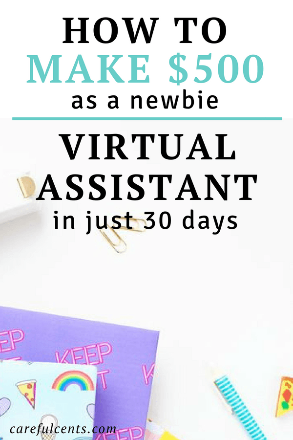 How to Become a Virtual Assistant and Earn Your First $500 (Even as a Newbie). Plus, get a free bonus 150+ virtual assistant services you can offer today! virtual assistant tips | virtual assistant jobs | virtual assisting #virtualassistant #virtualassistantjobs
